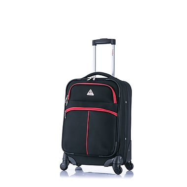 InUSA Roller-FI Lightweight Softside Spinner Luggage, 20
