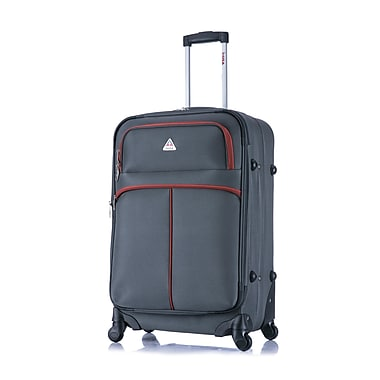InUSA Roller-FI Lightweight Softside Spinner Luggage, 24