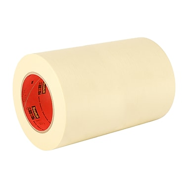 3M 203 General Purpose Masking Tape 12in x 55m, (1 Roll)