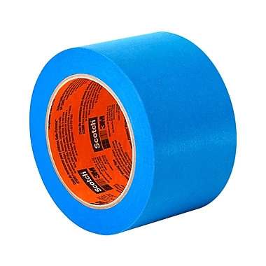 3M 2080 Painter's Tape for Delicate Surfaces 4in x 60yd, (1 Roll)