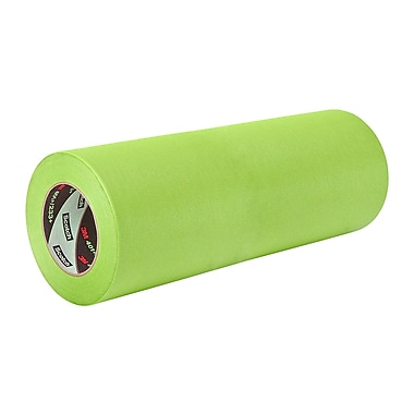 3M 401+ High Performance Green Masking Tape 9in x 60yd, (1 Roll)