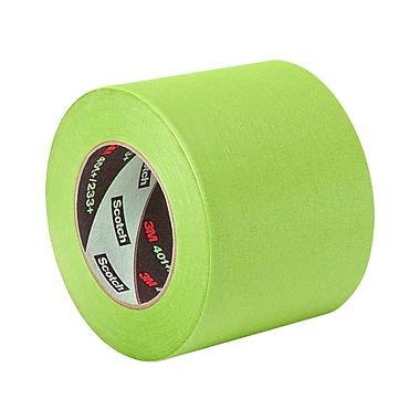 3M 401+ High Performance Green Masking Tape 5in x 60yd, (1 Roll)