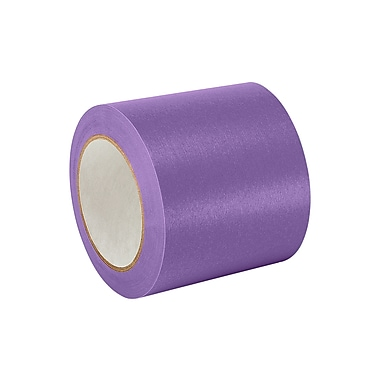 3M 501+ Purple Specialty High Temperature Masking Tape 4in x 60yd, (1 Roll)
