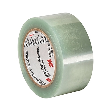 3M 5 Clear Polyester Film Electrical Tape 1.875in x 72yd (1 Roll)