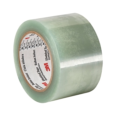 3M 5 Clear Polyester Film Electrical Tape 6in x 72yd (1 Roll)