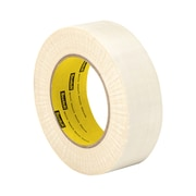 3M TapeCase 69 Glass Cloth Electrical Tape 69 with Silicone Pressure-Sensitive Adhesive 2in x 36yd (1 Roll)