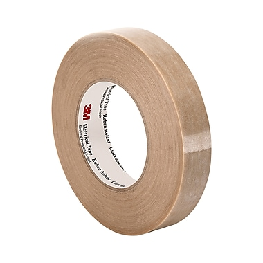 3M 46 Polyester Film/Glass Filaments Reinforced Backing Electrical Tape 1.25in x 60yd (1 Roll)