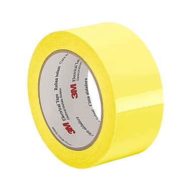 3M 56 Polyester Film Electrical Tape With Thermosetting Rubber Adhesive 2in x 72yd (1 Roll)