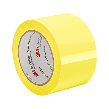 3M 56 Polyester Film Electrical Tape With Thermosetting Rubber Adhesive 3in x 72yd (1 Roll)