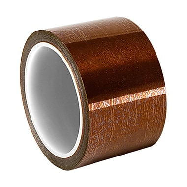 3M 92 Polyimide Film Tape with Thermosetting Silicone Adhesive Electrical Tape 1in x 36yd (1 Roll)