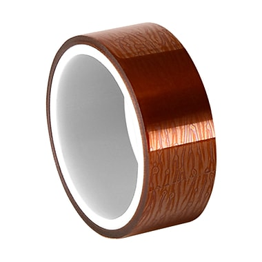 3M 1205 1 mil Polyimide Film Electrical Tape with Acrylic Adhesive 1.25in x 36yd (1 Roll)