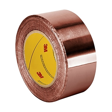 TapeCase SG56-03 Semi Conductive Abrasion Resistant Fiberglass Tape Coated with Teflon PTFE, 1