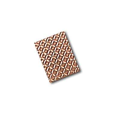 3M 1245 Embossed Copper Foil Tape, 0.75