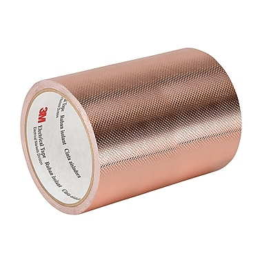 3M 1245 Embossed Copper Foil Tape, 9