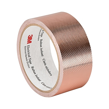 3M 1245 Embossed Copper Foil Tape, 2.83