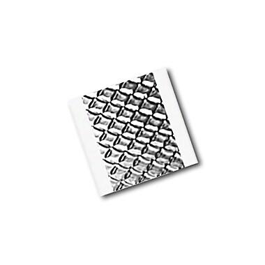 3M 1267 Embossed Aluminum Foil Tape, 0.75