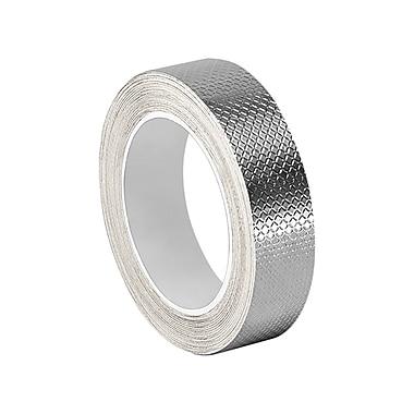 3M 1267 Embossed Aluminum Foil Tape, 0.71