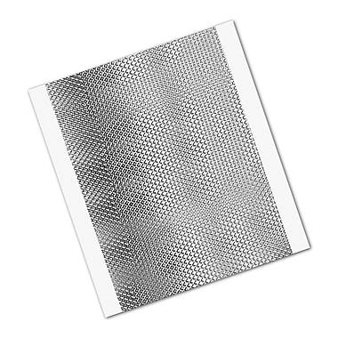 3M 1267 Embossed Aluminum Foil Tape, 6