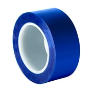 """3M 8901 1 mil Blue Polyester Tape, 1.89"""" x 72yd"""