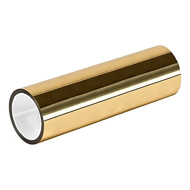 3M TapeCase MPFT-Gold Metalized Polyester Film Tape, 23