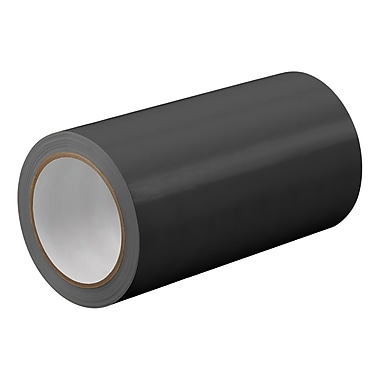 3M TapeCase TC414 Black UPVC Tape, 48