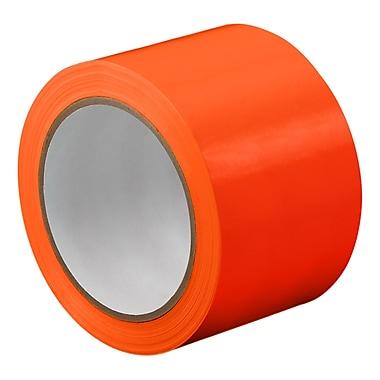 3M TapeCase TC414 Orange UPVC Tape, 16