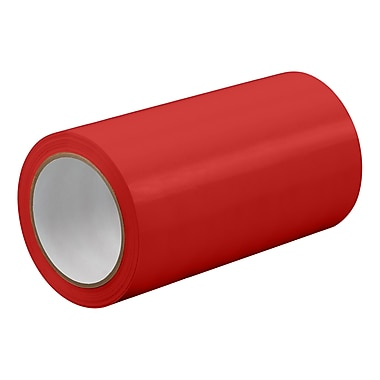 3M TapeCase TC414 Red UPVC Tape, 13.5