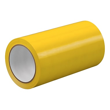 3M TapeCase TC414 Yellow UPVC Tape, 9
