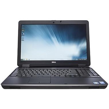 Dell – Portatif E6540 remis à neuf 15 po, Intel Core i7 4600M, 2,9 GHz, SSD 128 Go, DDR3 8 Go, Windows 10 Pro