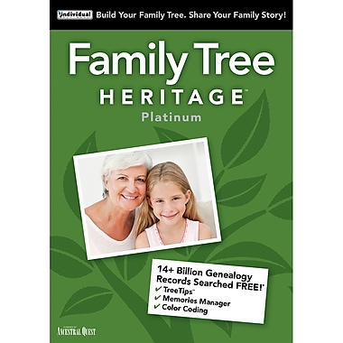 Family Tree Heritage Platinum 15, Windows [Download]