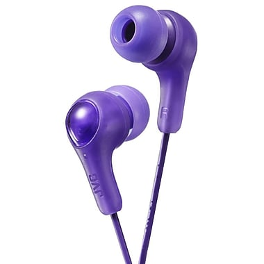 JVC HA-FX7 Gumy Plus Inner-Ear Headphone, Violet