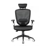 Moustache® Ergonomic Adjustable Office Chair with Adjustable Headrest And Lumbar Support (SP-MOFC-H0088F1)