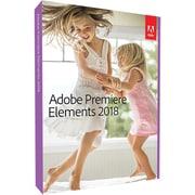 Adobe Premiere Elements 2018 Software, DVD, Mac/Windows (65281782)