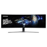 "Samsung CHG90 Series C49HG90DMN 49"" LED Backlit LCD Monitor, Charcoal Black/Titanium"