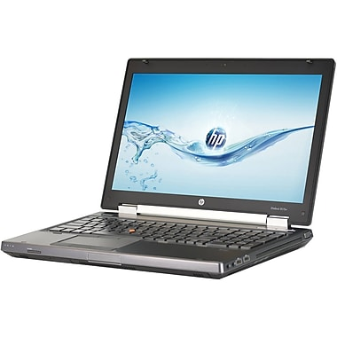 HP Refurbished ELITEBOOK 8570W 15.6-inch Notebook, 2.6 GHz Intel Core i7 3720QM, 500 GB HDD, 8 GB DDR3, Windows 10 Professional
