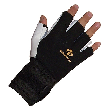 Impacto BG471-01 Half Finger Anti-vibration Glove W/wrist Support