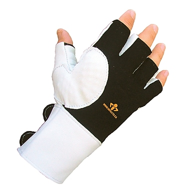 Impacto 475-30 Half Finger Impact Glove W/wrist Support