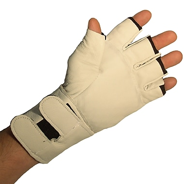 Impacto BG471 Half Finger Anti-vibration Glove W/wrist Support