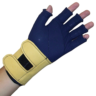 Impacto 725-02 3/4 Finger Impact Glove Liner W/wrist Support