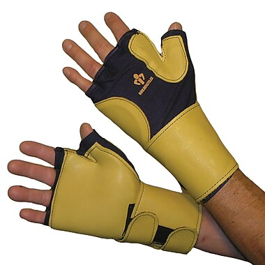 Impacto 706-20 Fingerless Impact Glove W/wrist Support