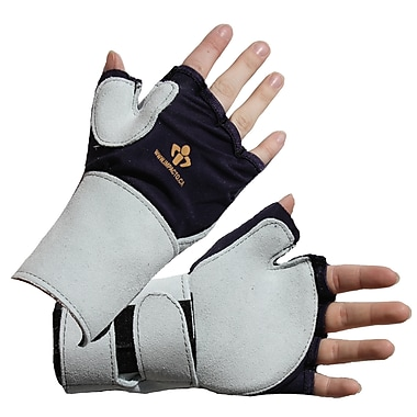 Impacto 704-10 Fingerless Impact Glove W/wrist Support