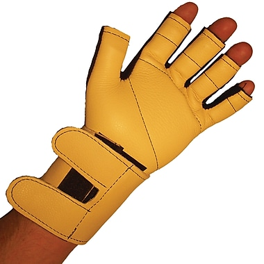Impacto 725-20 3/4 Finger Impact Glove W/wrist Support