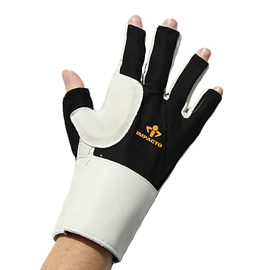 Impacto 485-30 3/4 Finger Impact Glove W/wrist Support