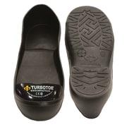 Impacto - Couvre-chaussure à embout d'acier Turbotoe, très très très grand, orteils noirs