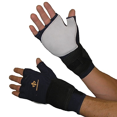 Impacto 719-10 Fingerless Impact Glove W/wrist Support