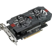 Asus RX560-O4G-EVO Radeon RX 560 Graphic Card, 1.15 GHz Core, 1.20 GHz Boost Clock, 4 GB GDDR5, Dual Slot Space Required