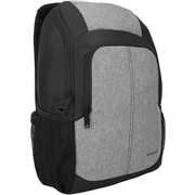 "Targus Urbanite TSB873US Carrying Case (Backpack) for 16"" Tablet, Notebook, Umbrella, Bottle, Black, Gray"