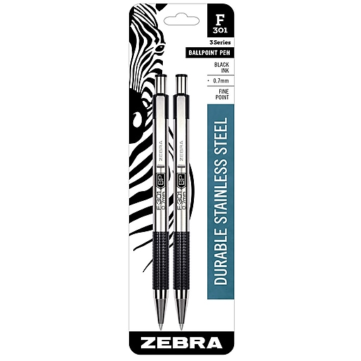 https://www.staples-3p.com/s7/is/. ×. Images for Zebra Pen F-301 ...