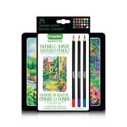Crayola Blend & Shade Gel Coloured Pencil Tin
