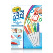 Crayola CW Paint Brush Pens, 5/Pack (752441)